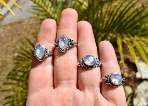 moonstone-rings
